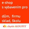 E-shop s vybavením pro dům, firmu, sklad a školu
