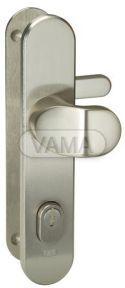 Zámečnictví - klíče : Bezpečnostní kování Abloy S408 klika+madlo 72mm