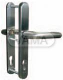 Zámečnictví - klíče : Bezpečnostní kování SX43 pro samozamykací zámky Abloy