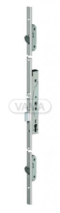 Zámečnictví - klíče : Samozamykací zámek Abloy EL066 mechanický multipoint - backset 35mm