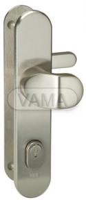 Zámečnictví - klíče : Bezpečnostní kování Abloy S408 klika+madlo 90mm