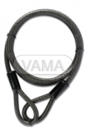 Zámečnictví - klíče : Ocelové lanko YCBL1/8/200