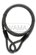 Zámečnictví - klíče : Ocelové lanko YCBL1/8/300