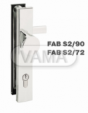 Zámečnictví - klíče : Bezpečnostní kování - S2-90 klika+koule